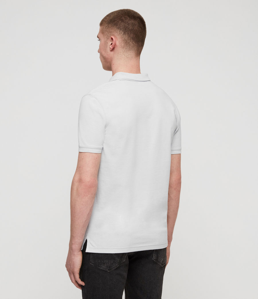 Men's Reform Short Sleeve Polo Shirt (sol_blue_marl) - Image 5