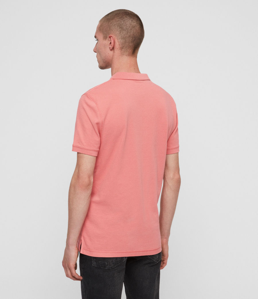 Men's Reform Short Sleeve Polo Shirt (havana_pink) - Image 4