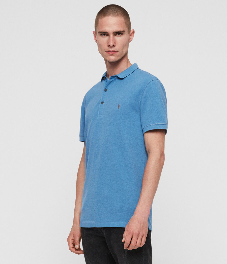 Mens Reform Short Sleeve Polo Shirt (ink_navy) - Image 1