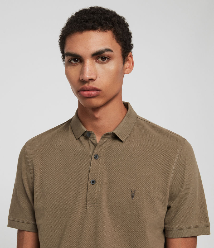 Men's Reform Polo Shirt (cement) - Image 2