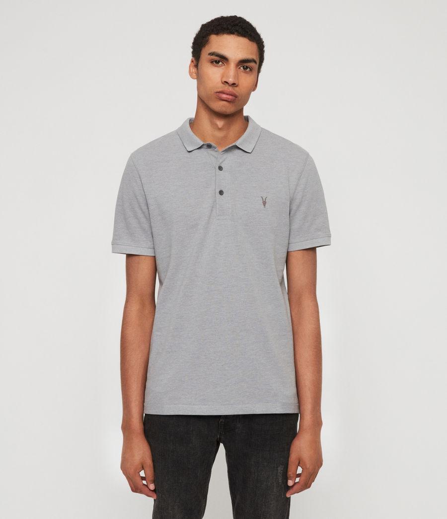 Men's Reform Polo Shirt (lt_ash_blue_marl) - Image 1