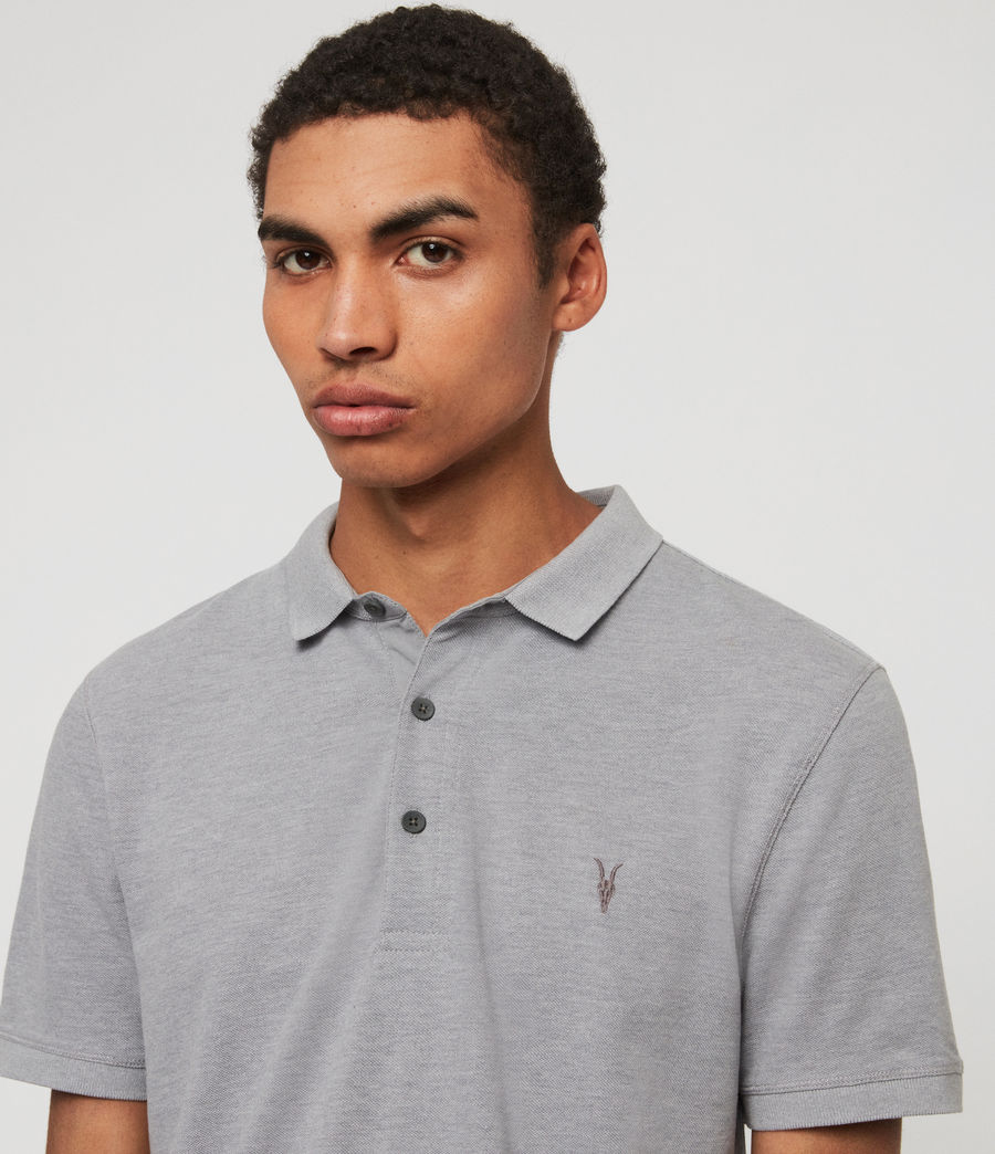 Hombres Polo Reform (cement) - Image 2