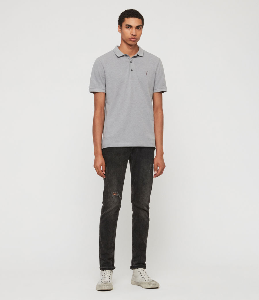 Hombres Polo Reform (cement) - Image 3