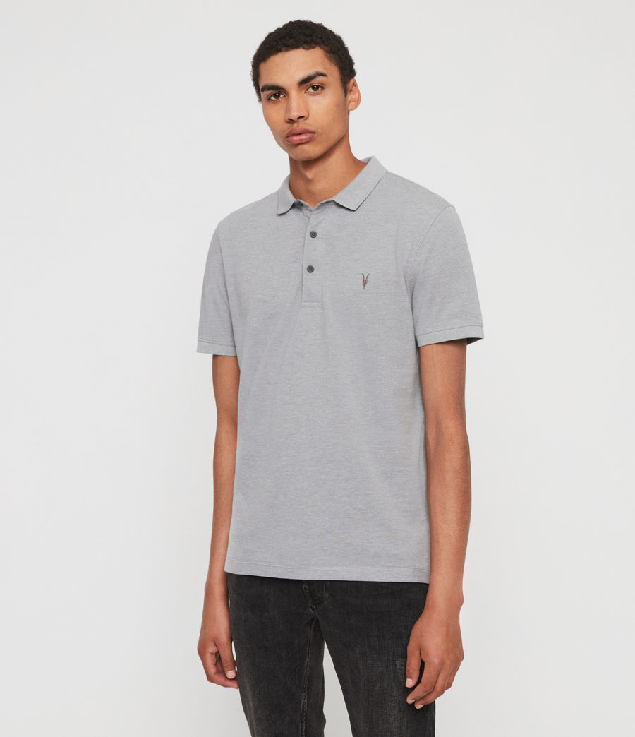 Hombres Polo Reform (cement) - Image 4