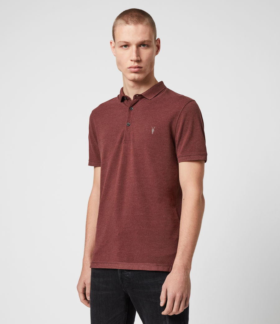 Men's Reform Short Sleeve Polo Shirt (optic_white) - Image 4