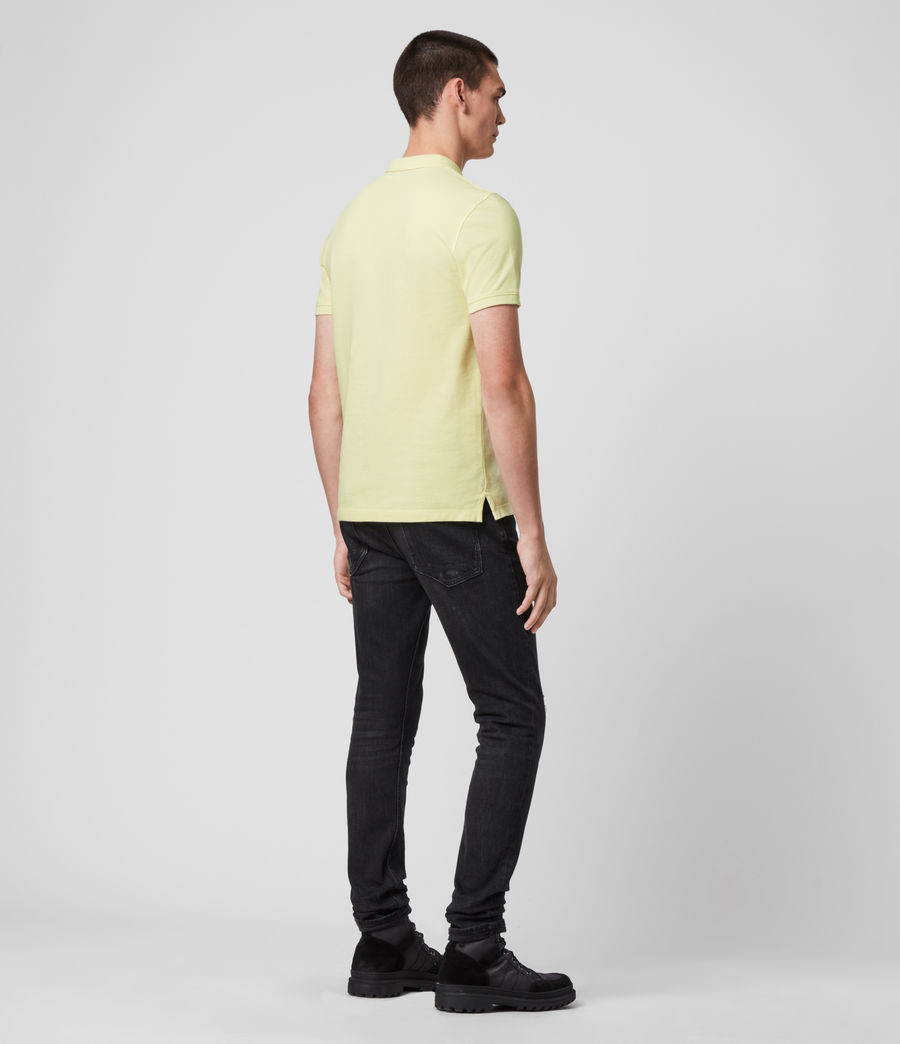 Hombres Reform Short Sleeve Polo Shirt (camomile_yellow) - Image 5