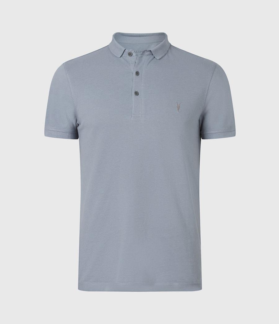Herren Reform Short Sleeve Polo Shirt (twilight_grey) - Image 2