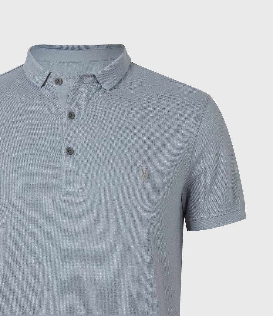 Herren Reform Short Sleeve Polo Shirt (twilight_grey) - Image 5