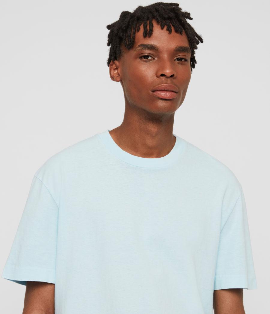 Men's Lambert Crew T-Shirt (neon_aqua_blue) - Image 3