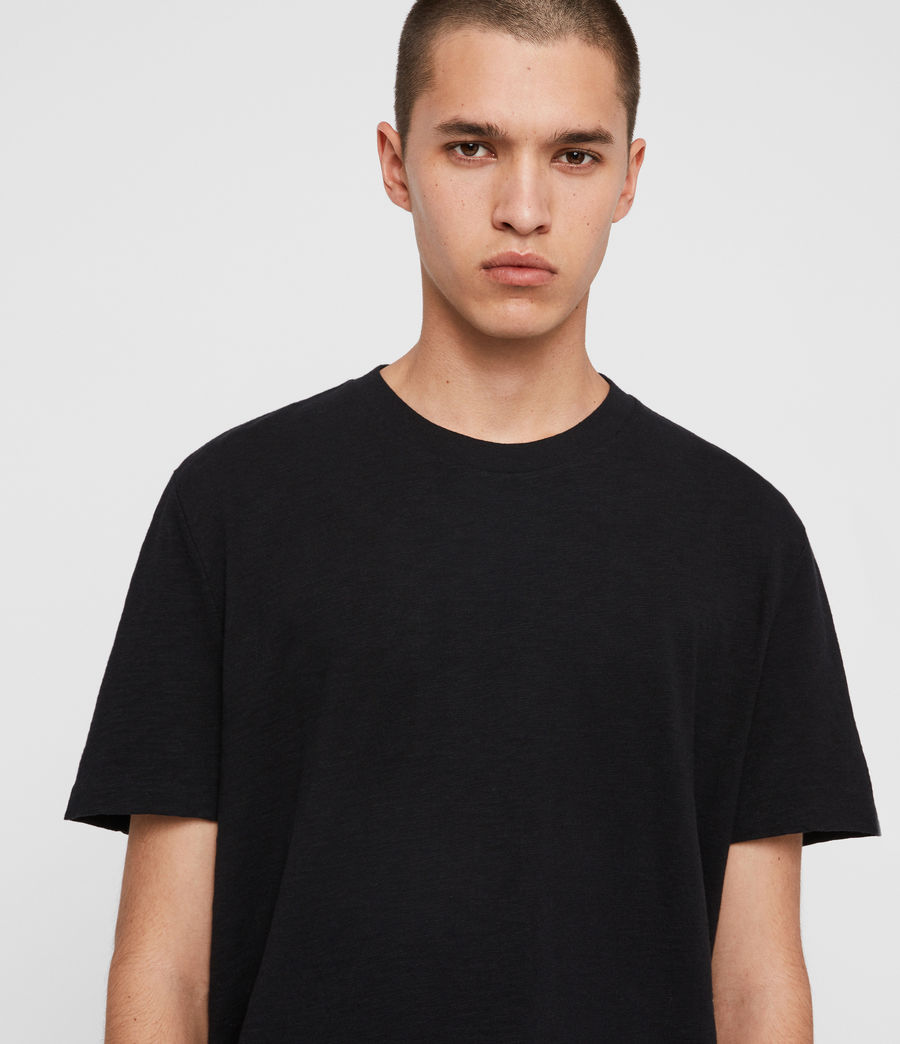 Men's Sage Crew T-Shirt (jet_black) - Image 2