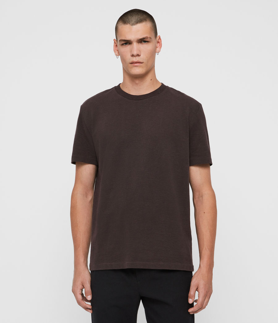 Men's Sage Crew T-Shirt (jet_black) - Image 1
