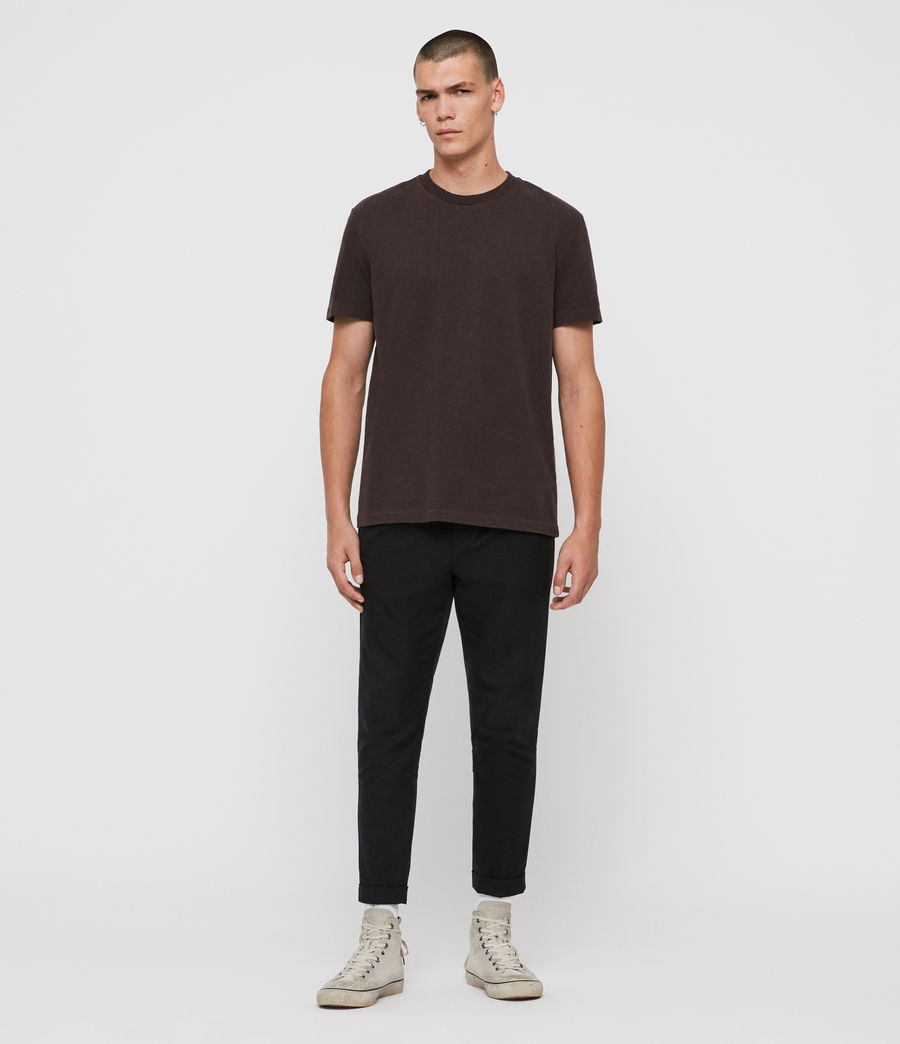 Men's Sage Crew T-Shirt (jet_black) - Image 3