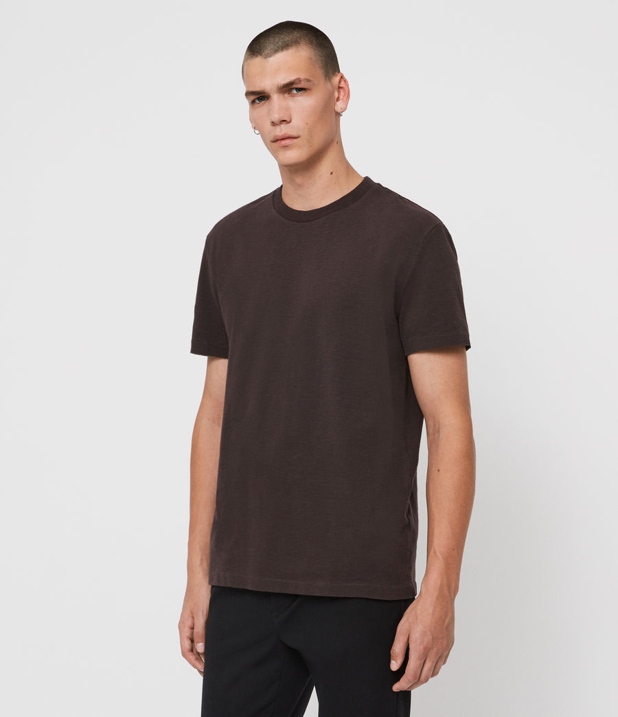 Men's Sage Crew T-Shirt (jet_black) - Image 4
