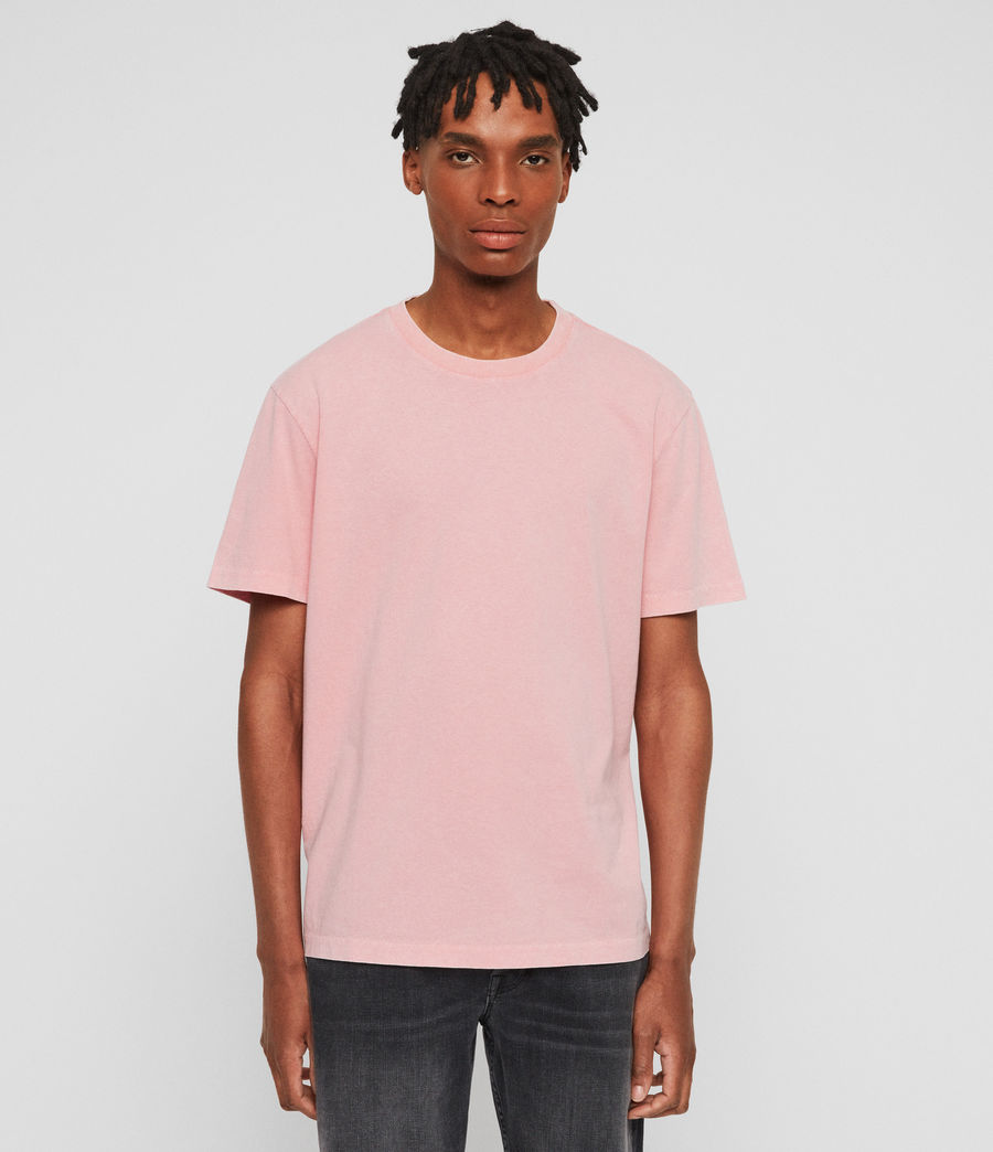 Men's Acetic Crew T-Shirt (havana_pink) - Image 1