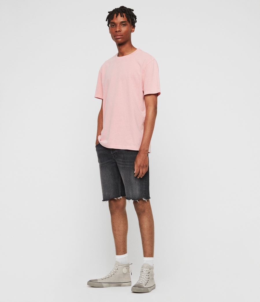 Men's Acetic Crew T-Shirt (havana_pink) - Image 2