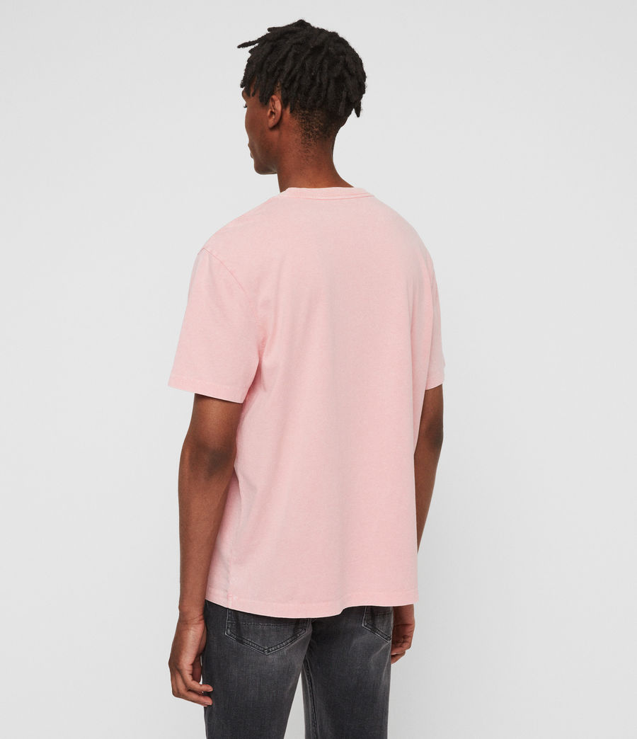 Men's Acetic Crew T-Shirt (havana_pink) - Image 4