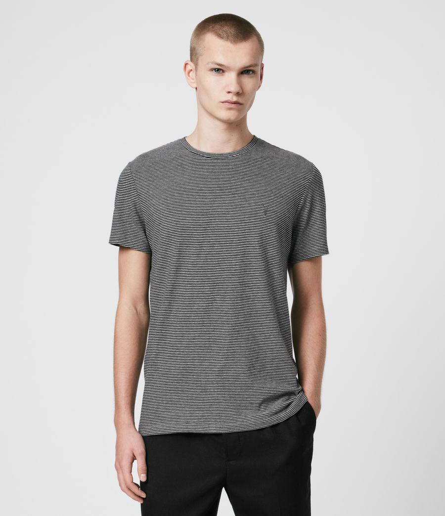 Herren Tonic Marine T-Shirt (jet_black_grey_ml) - Image 1