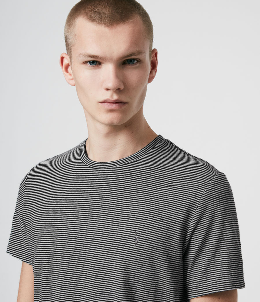 Herren Tonic Marine T-Shirt (jet_black_grey_ml) - Image 2