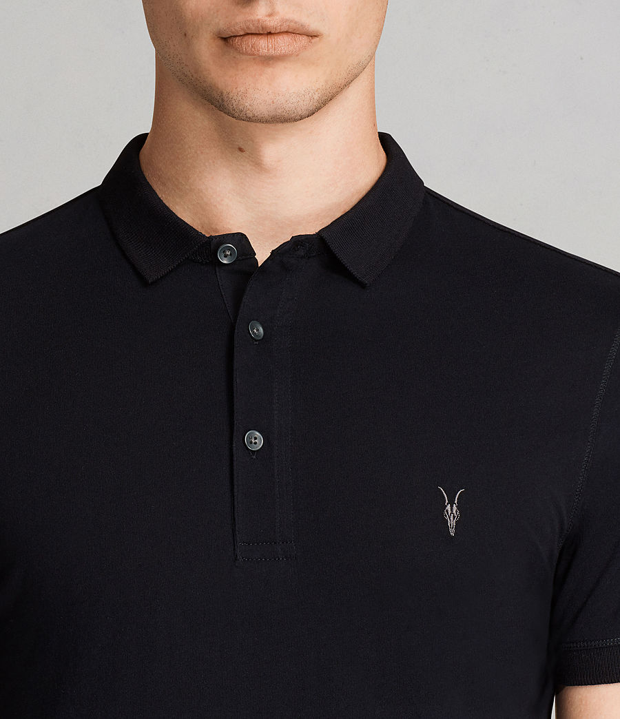 Men's Alter Polo Shirt (ink_navy) - Image 2