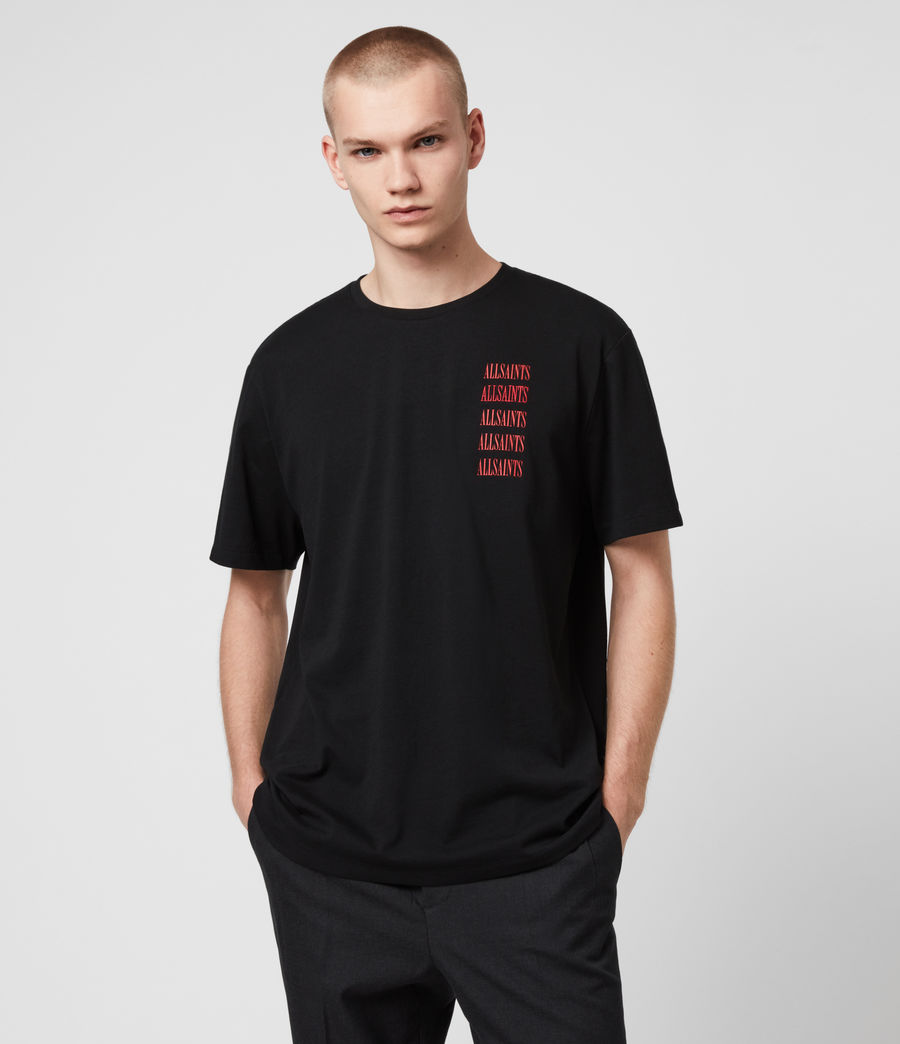 Men's Titans Crew T-Shirt (jet_black) - Image 1