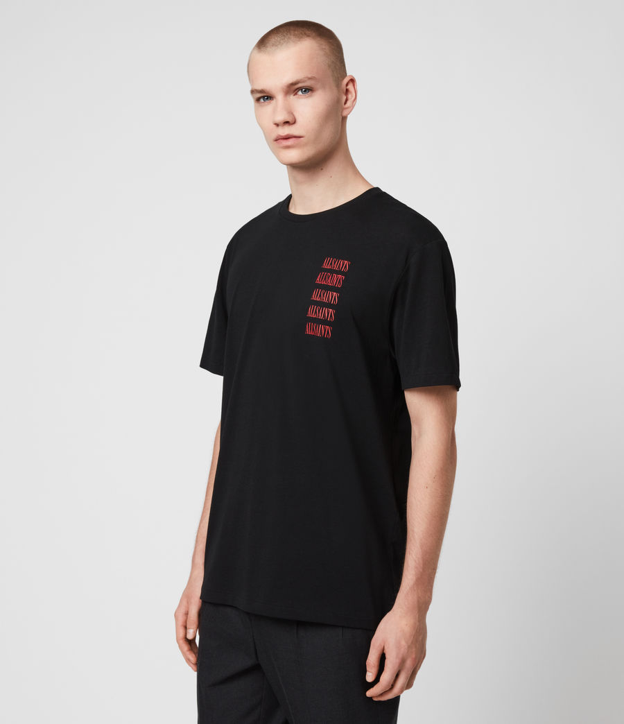Men's Titans Crew T-Shirt (jet_black) - Image 4