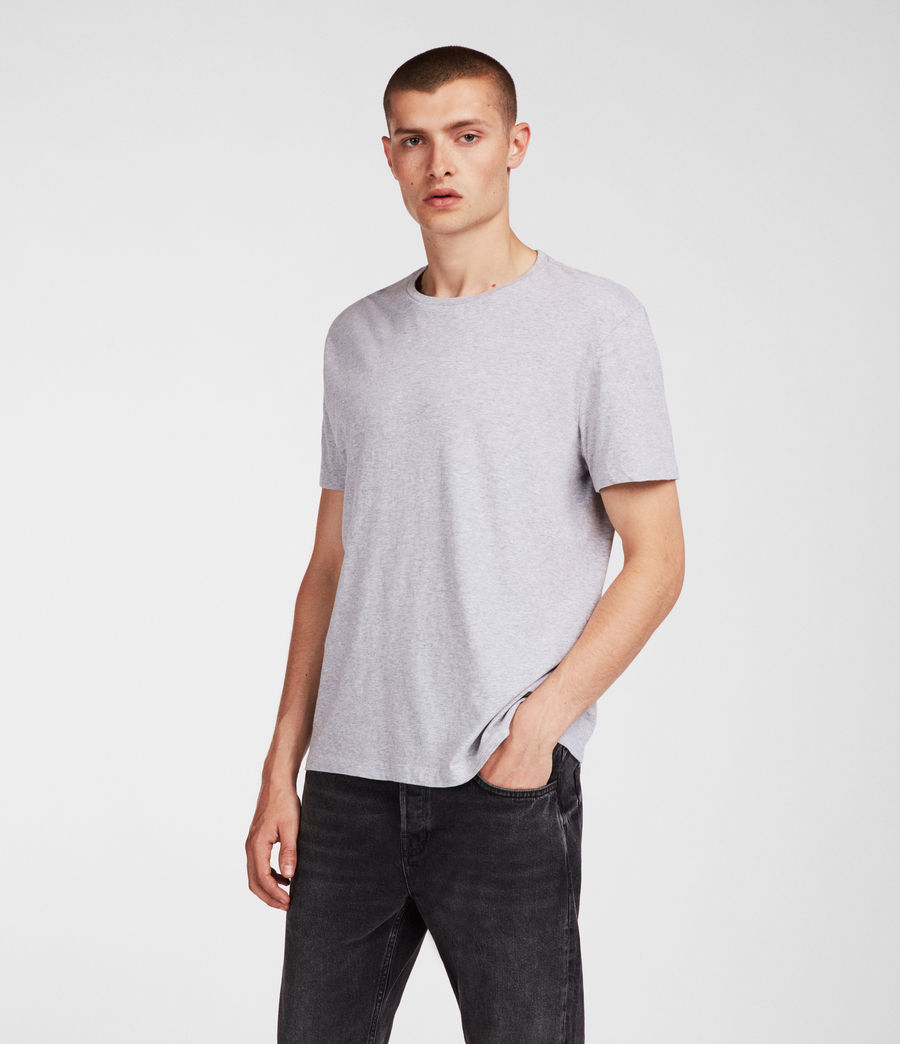 Men's Tubular Crew T-Shirt (grey_marl) - Image 1