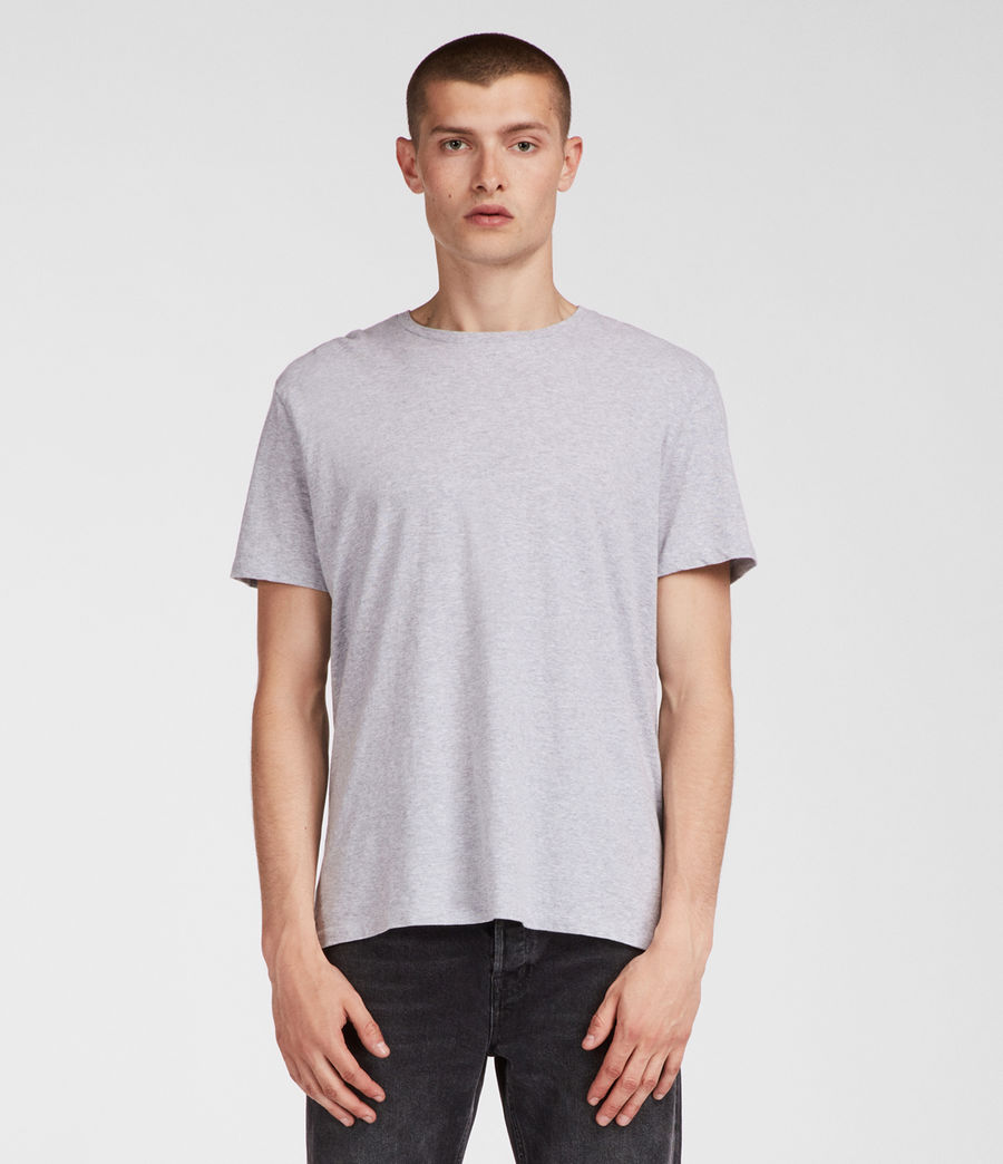 Men's Tubular Crew T-Shirt (grey_marl) - Image 3