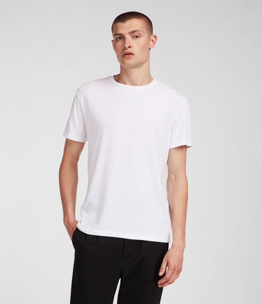 Men's Tubular Crew T-Shirt (optic_white) - Image 1