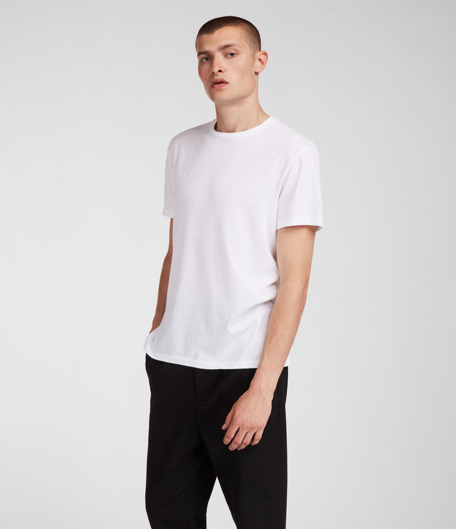 Uomo T-shirt Tubular (optic_white) - Image 2