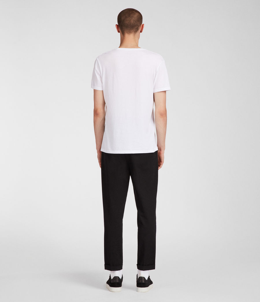 Men's Tubular Crew T-Shirt (optic_white) - Image 3