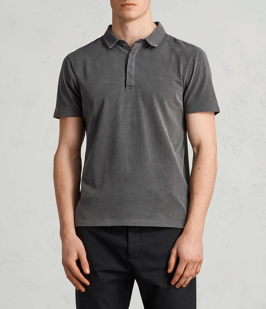 Mens Ossage Polo Shirt (heath_grey) - Image 1