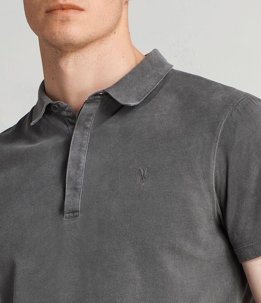 Men's Ossage Polo Shirt (heath_grey) - Image 2