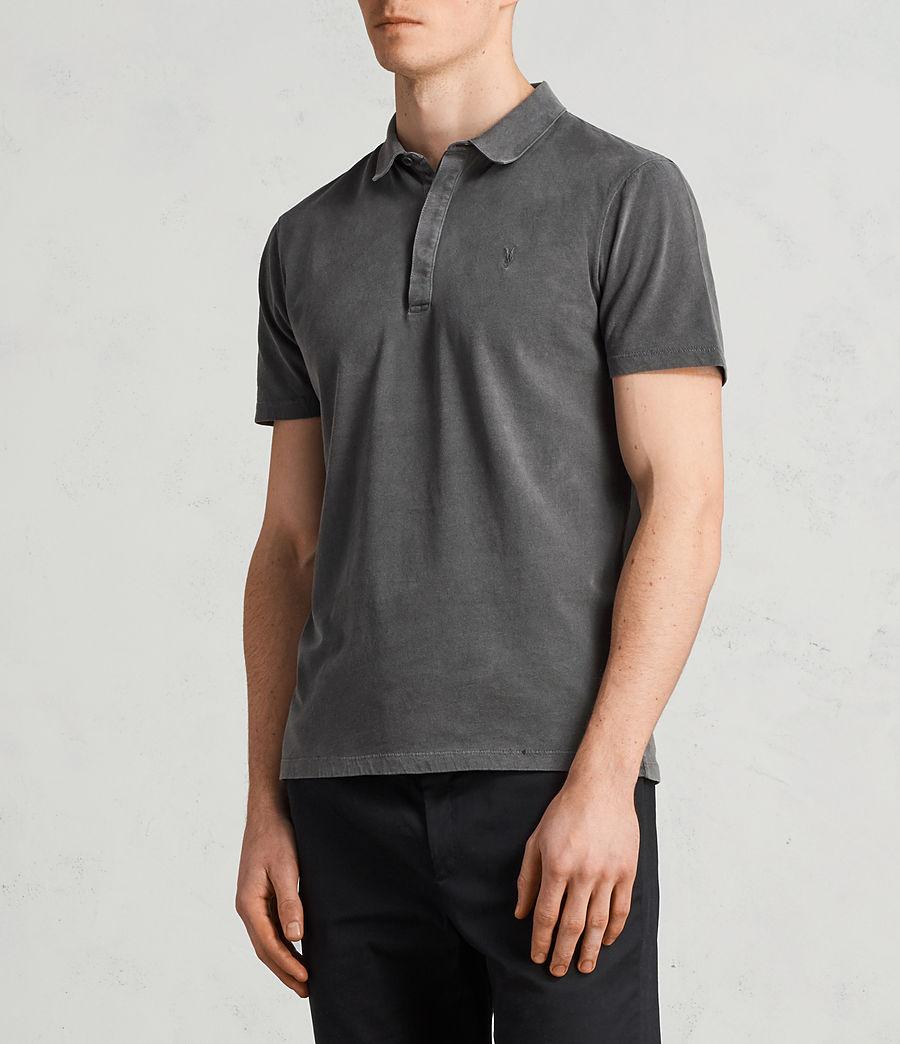 Mens Ossage Polo Shirt (heath_grey) - Image 3