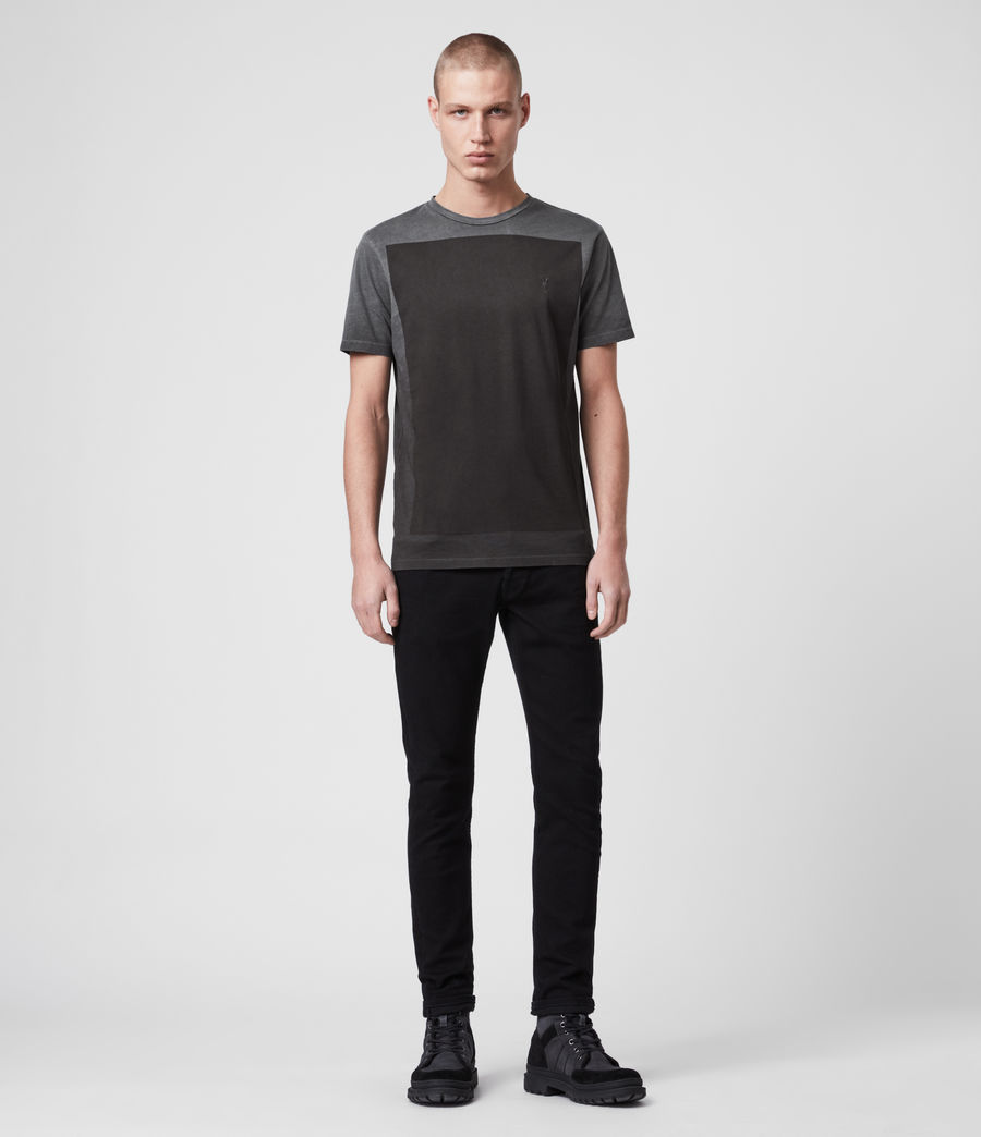 Uomo T-shirt Lobke Fade (washed_black) - Image 2