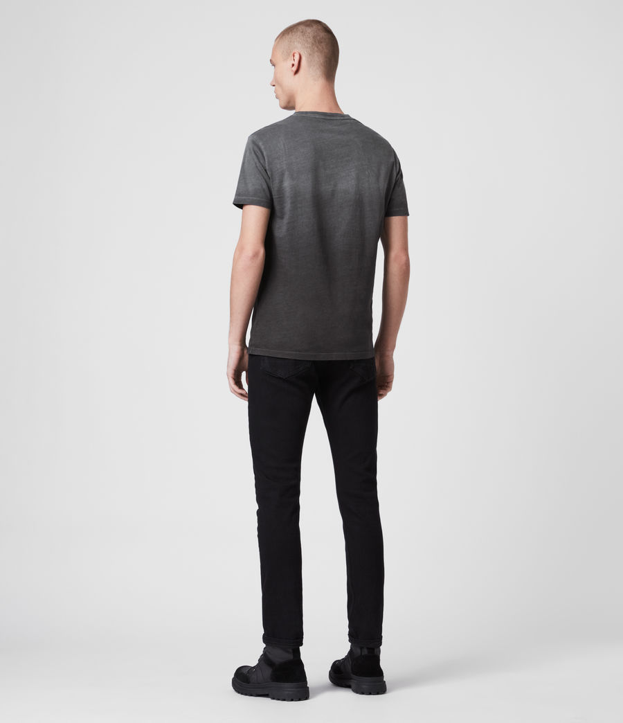 Uomo T-shirt Lobke Fade (washed_black) - Image 4