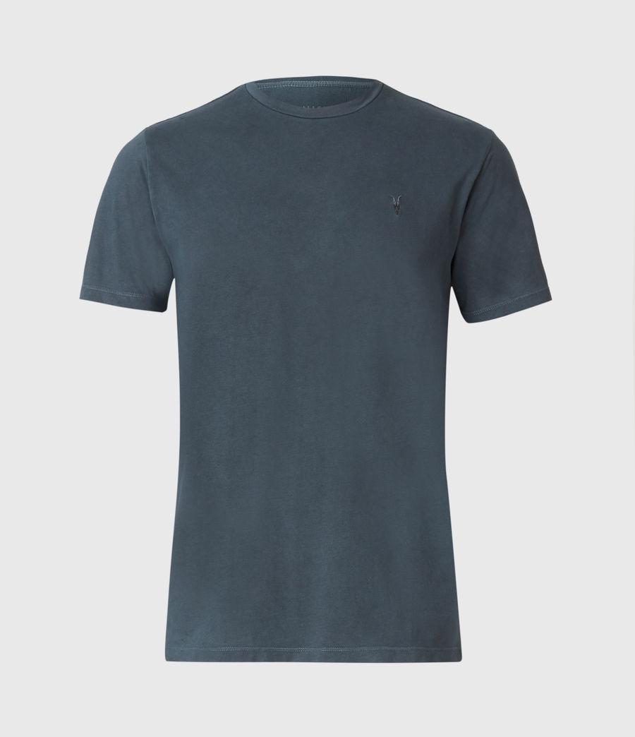 Uomo Ossage Crew T-Shirt (washed_navy) - Image 1