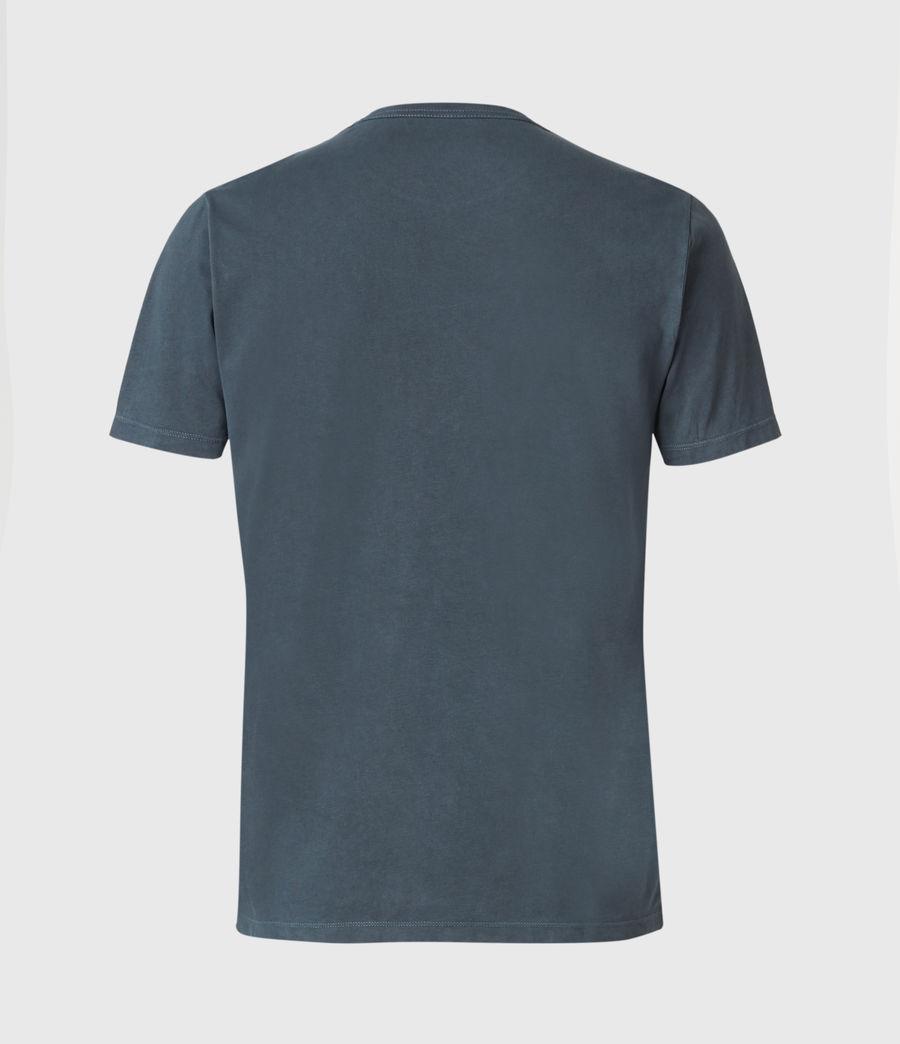 Uomo Ossage Crew T-Shirt (washed_navy) - Image 2