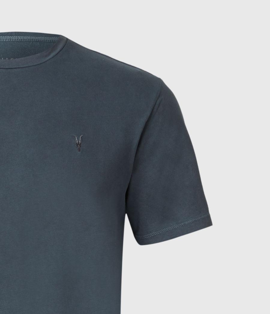 Uomo Ossage Crew T-Shirt (washed_navy) - Image 3