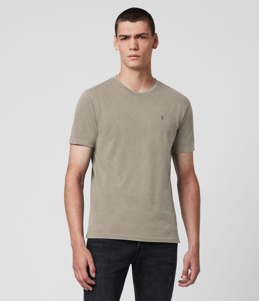 Men's Ossage Crew T-Shirt (sage_green) - Image 1