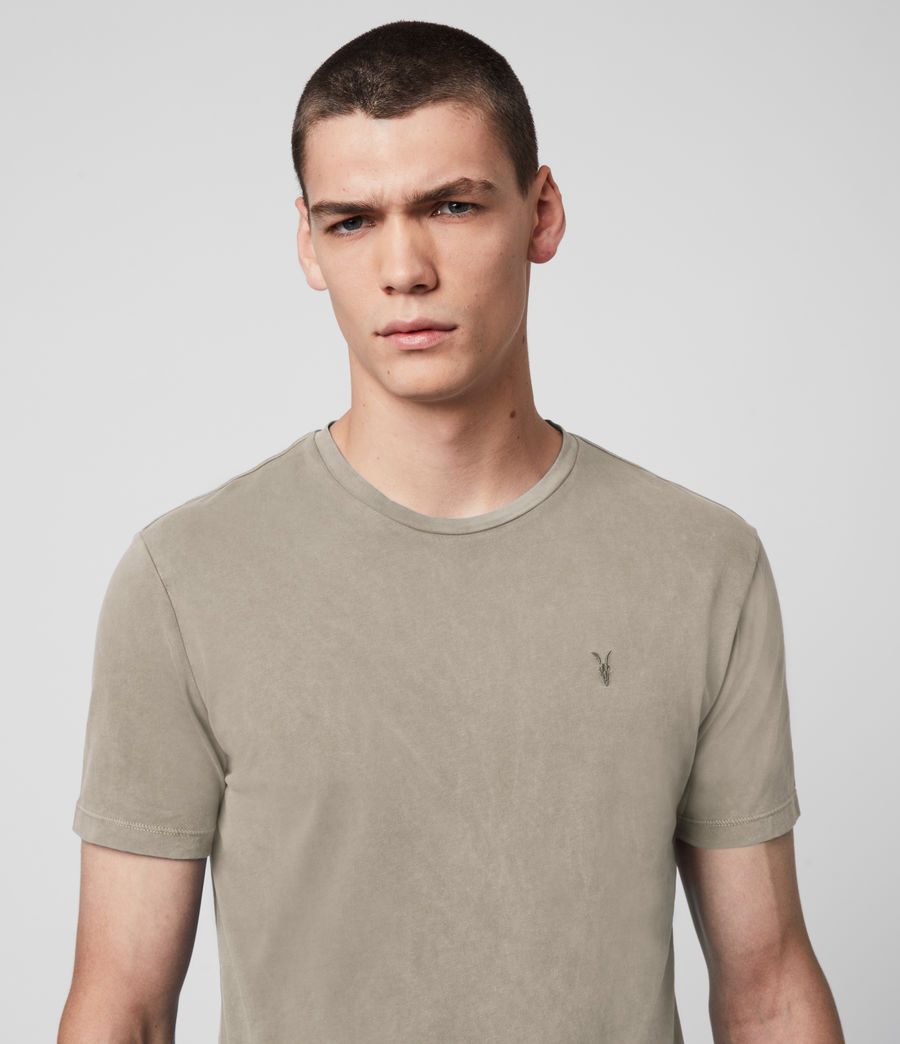 Men's Ossage Crew T-Shirt (sage_green) - Image 2