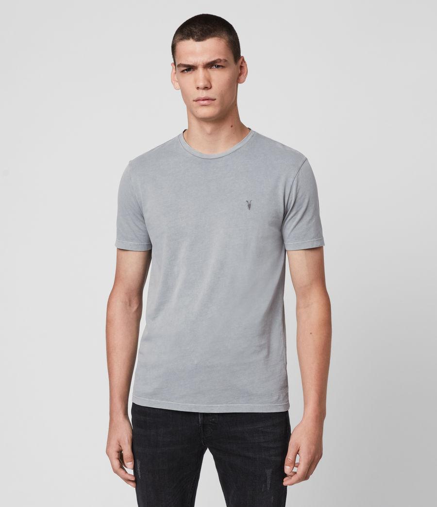 Men's Ossage Crew T-Shirt (mist_blue) - Image 1