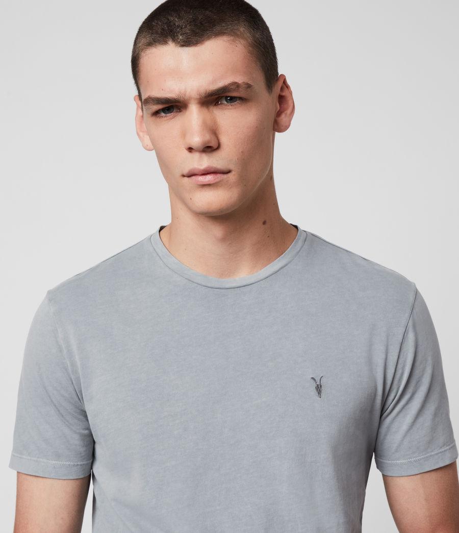 Hombres Ossage Crew T-Shirt (mist_blue) - Image 2