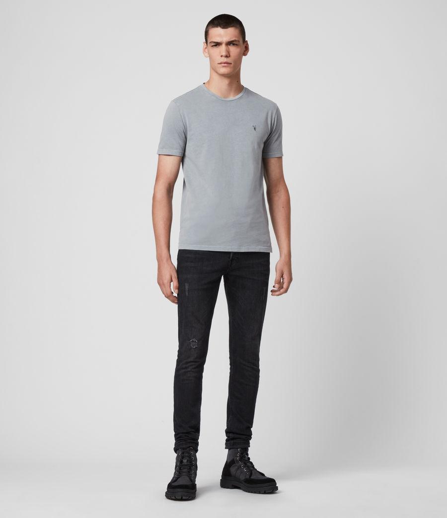 Hombres Ossage Crew T-Shirt (mist_blue) - Image 3