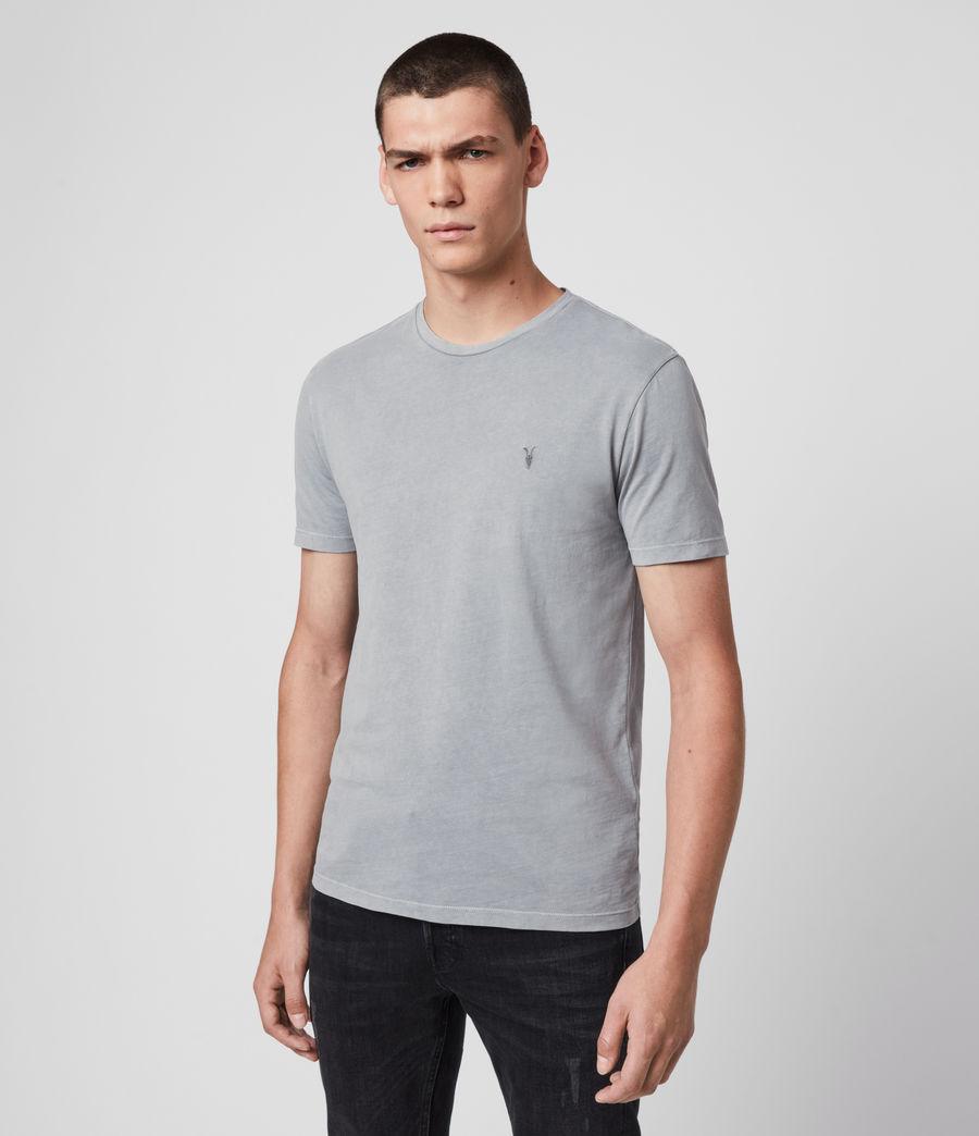 Hombres Ossage Crew T-Shirt (mist_blue) - Image 4