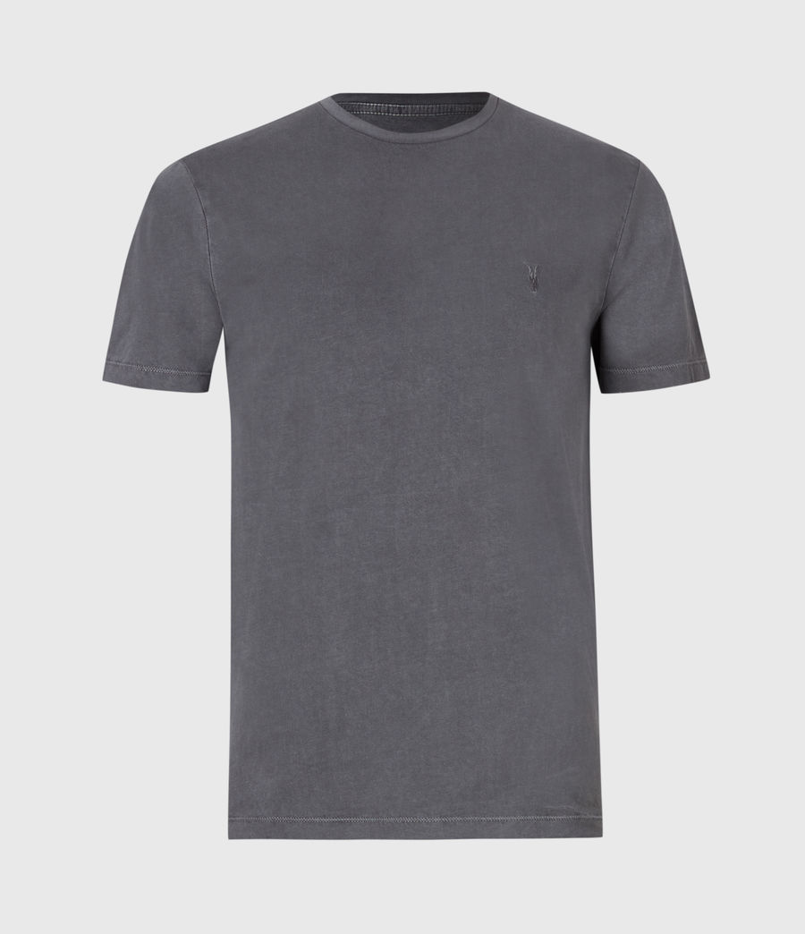 Mens Ossage Crew T-Shirt (shadow_blue) - Image 2
