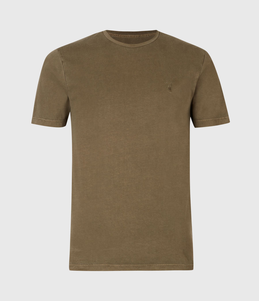 Herren Ossage Crew T-Shirt (army_green) - Image 2