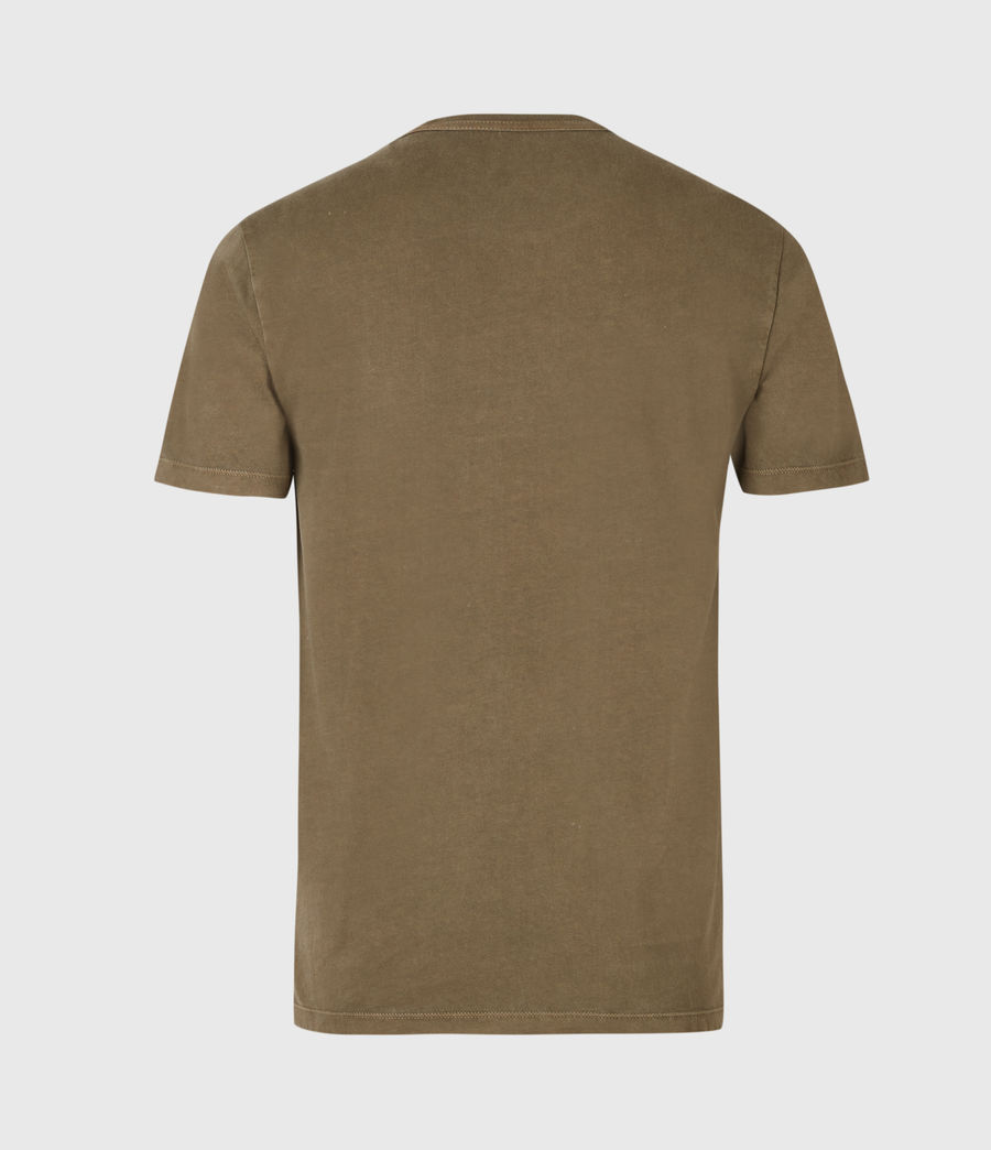 Herren Ossage Crew T-Shirt (army_green) - Image 3