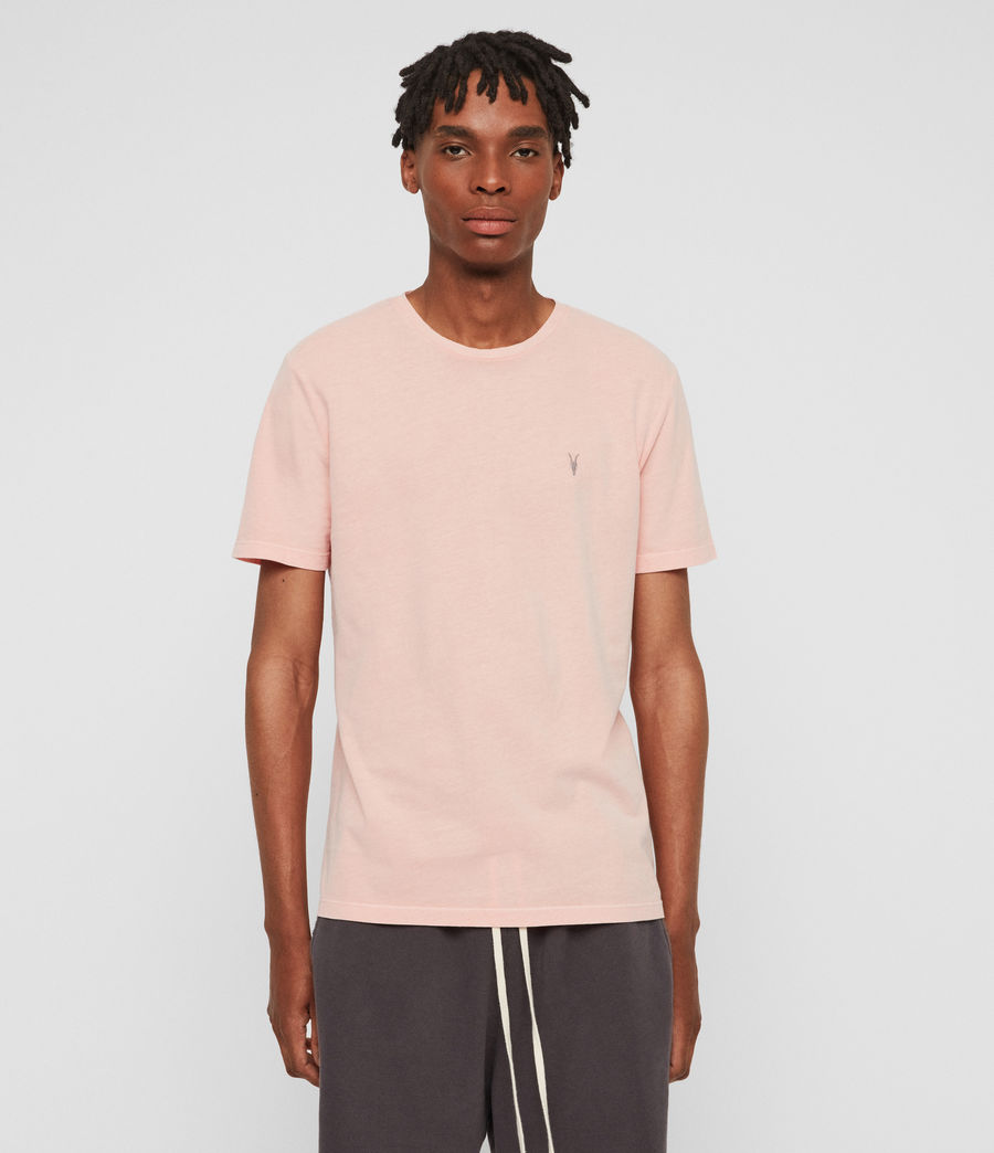 Uomo T-shirt Ossage (coral_pink) - Image 1