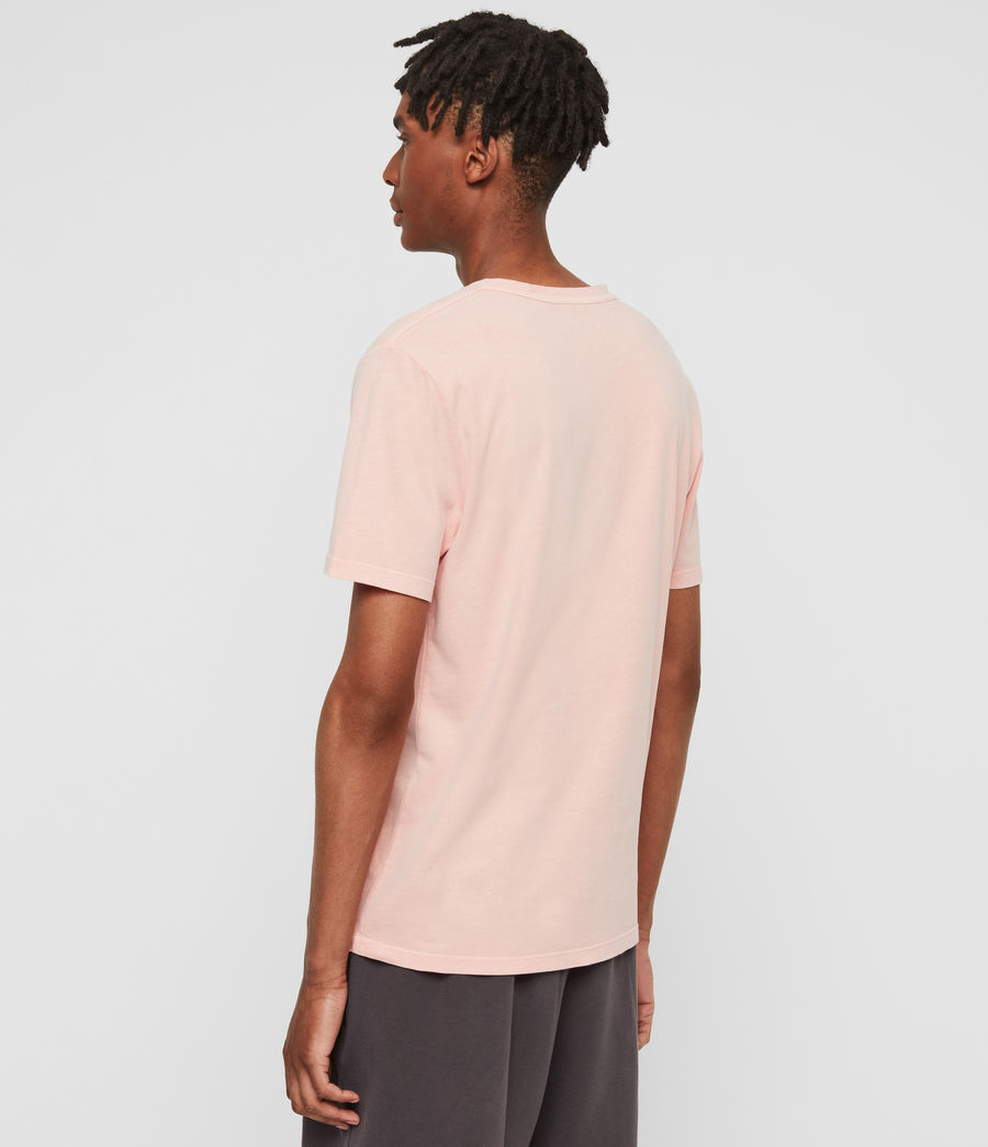Uomo T-shirt Ossage (coral_pink) - Image 5