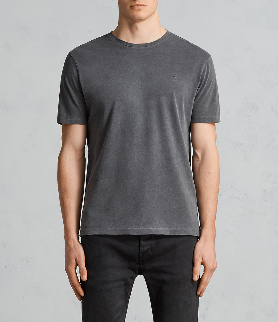 Uomo T-shirt Ossage (heath_grey) - Image 1